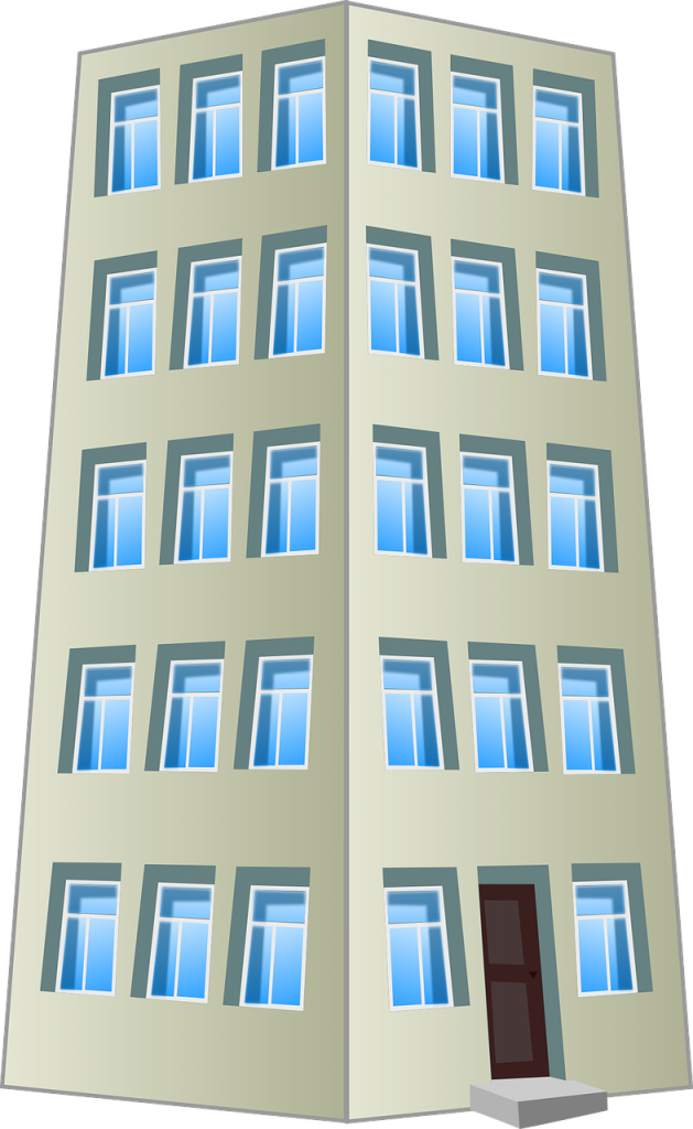 building, office, hotel